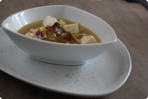 Kabis-Tofu-Suppe