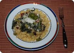 Pasta mit Cima di Rapa