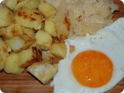 Währschaftes Sauerkrautmenü