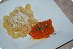 Kürbis-Karotten-Püree