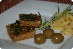 Rosmarin-Tofu