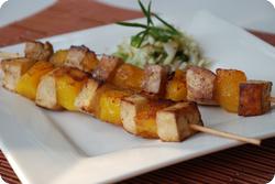 Mango-Tofu-Spiesse
