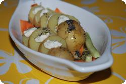 Sommerkartoffeln mit Mohn-Öl