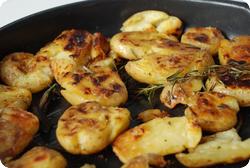 Knuspriger Kartoffelstampf