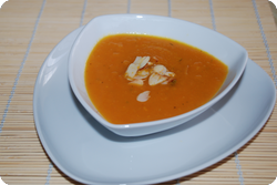 Curry-Karotten-Suppe