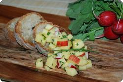 Käse-Apfel-Salat