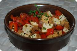 "Provenzalischer Tofu ""Atsu-Age"""