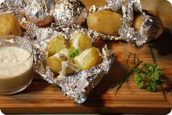Folienkartoffeln