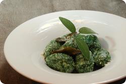 Gnocchi mit Ricotta und Spinat
