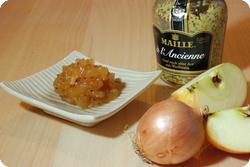 Apfel-Senf-Chutney