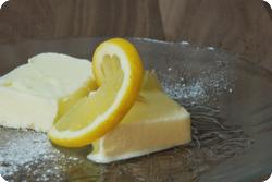 Zitronen-Mascarpone-Glacé