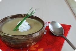 Pilzcrèmesuppe