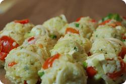 Gemüse-Reis-Bällchen