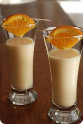 Orangen-Joghurt-Drink