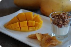 Frühstück mit Mango