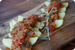 Kartoffeln mit Gemüse