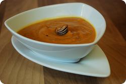 Süsskartoffel-Kürbis-Suppe