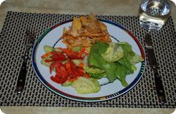 Tortilla-Gratin