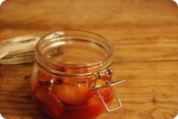 Steinfruchtkompott