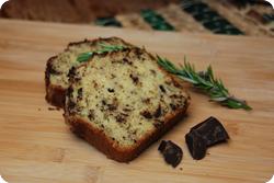 Rosmarin-Olivenöl-Schokokuchen