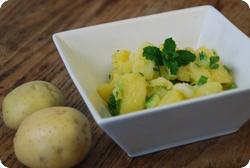 Erfrischender Kartoffelsalat