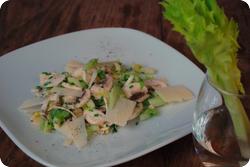 Champignon-Selleriesalat mit Parmesan