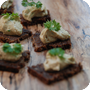 Thumb of Pumpernickel mit Tahini-Crème