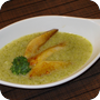 Thumb of Broccoli-Suppe mit glasierten Birnen