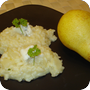 Thumb of Birnenrisotto mit Blauschimmelkäse